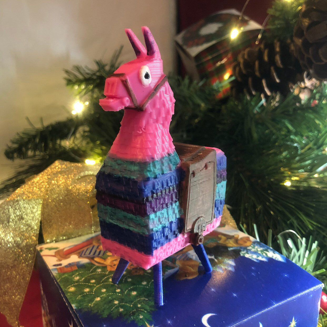 Fortnite Collectible Lucky Loot Llama Battle Royale Perfect Gamer Gift Gamer Gifts Handmade Gifts