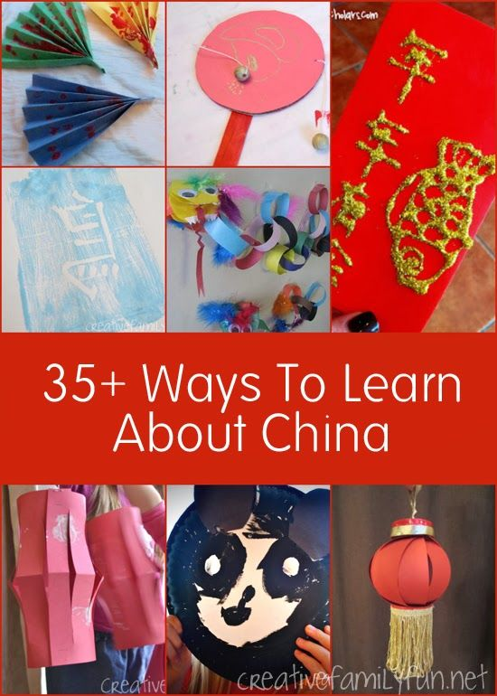 35+ China Activities for Kids | China for kids, World ...