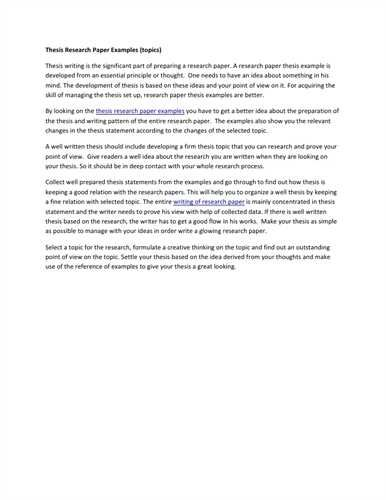 EXAMPLE OF GOOD RESEARCH PAPER Letter Of Resignation  Cover