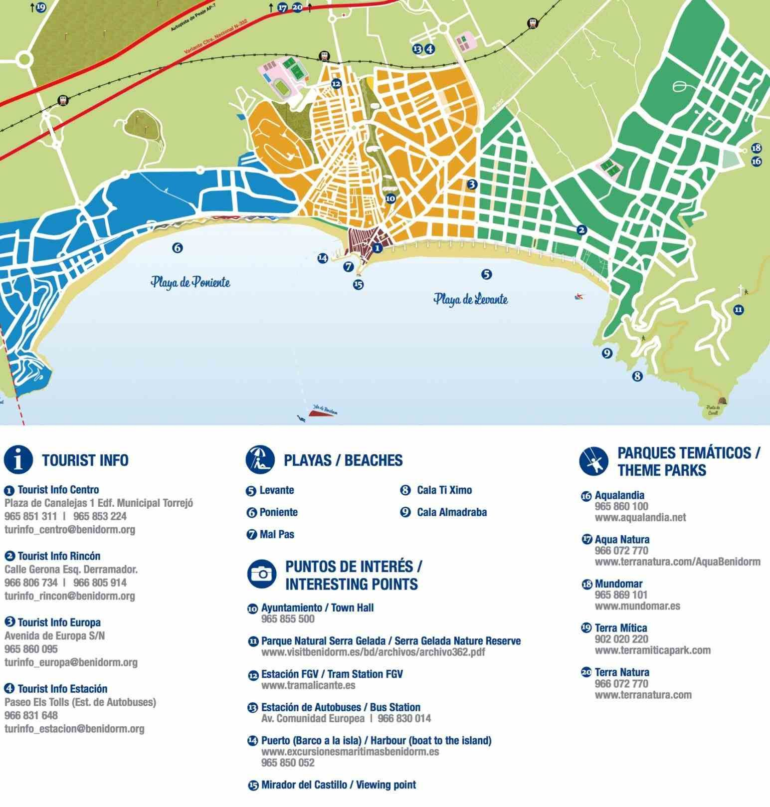 map hotel official website star what to see and do what benidorm