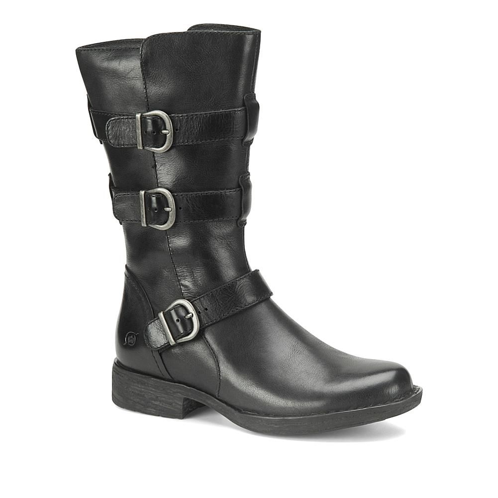 d2c2cef4a84 Born® Ivy Leather Buckled Moto Boot in 2019 | Products | Boots, Born ...