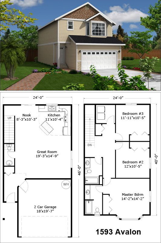 Avalon 1593 SF   For the Home   Pinterest   Architecture