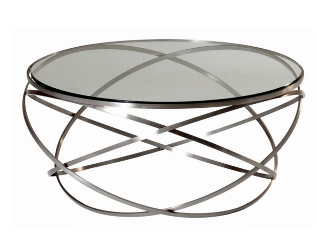 Oval Coffee Table Ikea Very Stylish And Modish Transparent Glass And Steel Verre Design Table En Verre Design Table Ronde En Verre