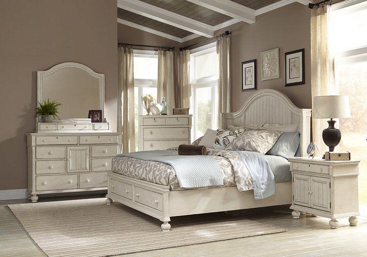 Newport 8 Drawers Combo Dresser White Panel Beds White Paneling