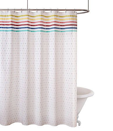 fiesta bath baja shower curtain #dillards | bathroom | pinterest