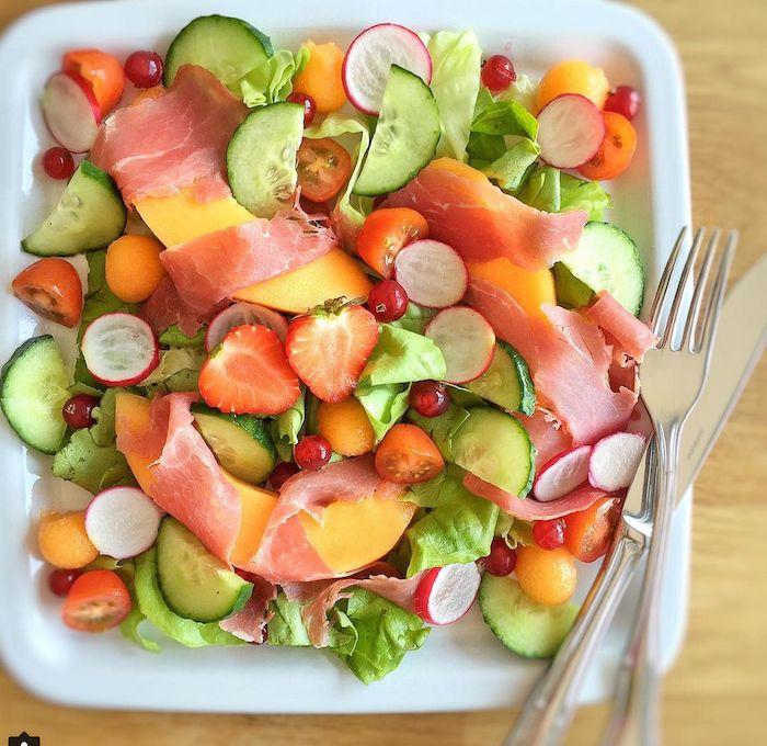 10 recettes originales de salades d'été saines et ...