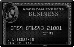 Business centurion card from american express neil gerardo business centurion card from american express colourmoves Images