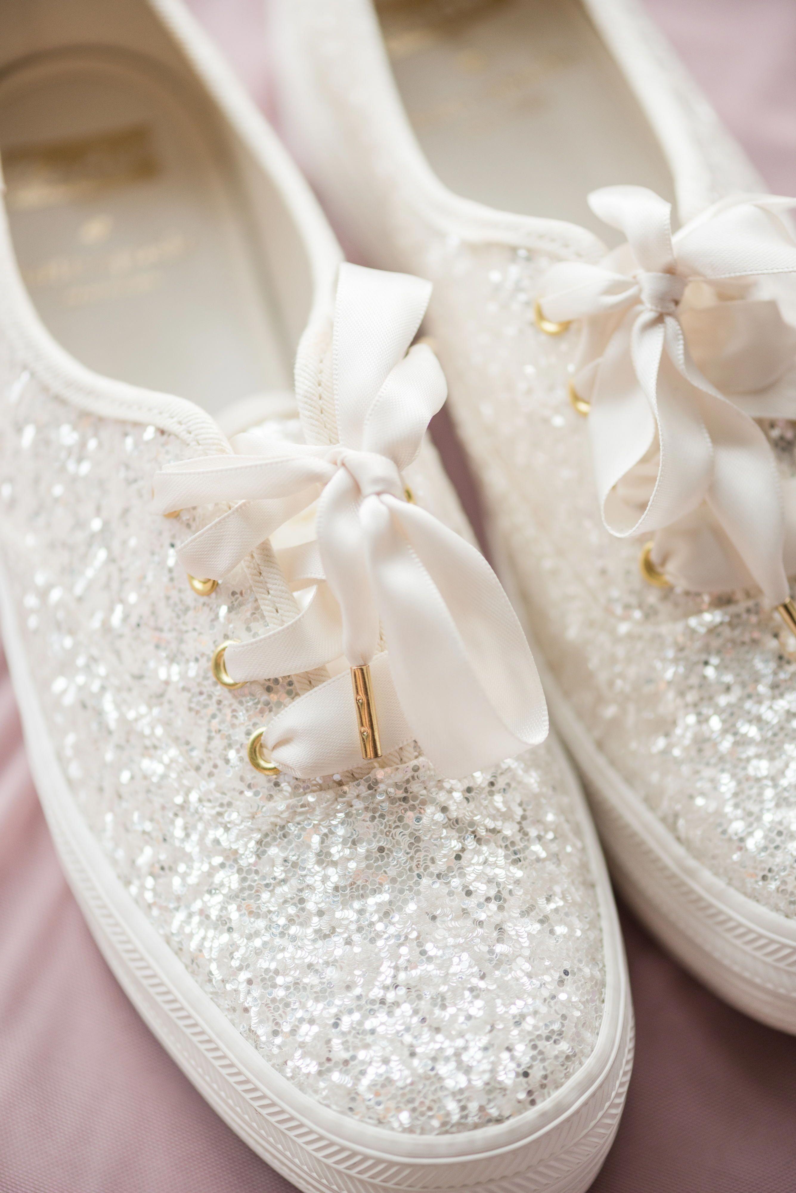 Sparkly glitter Kate Spade Keds for