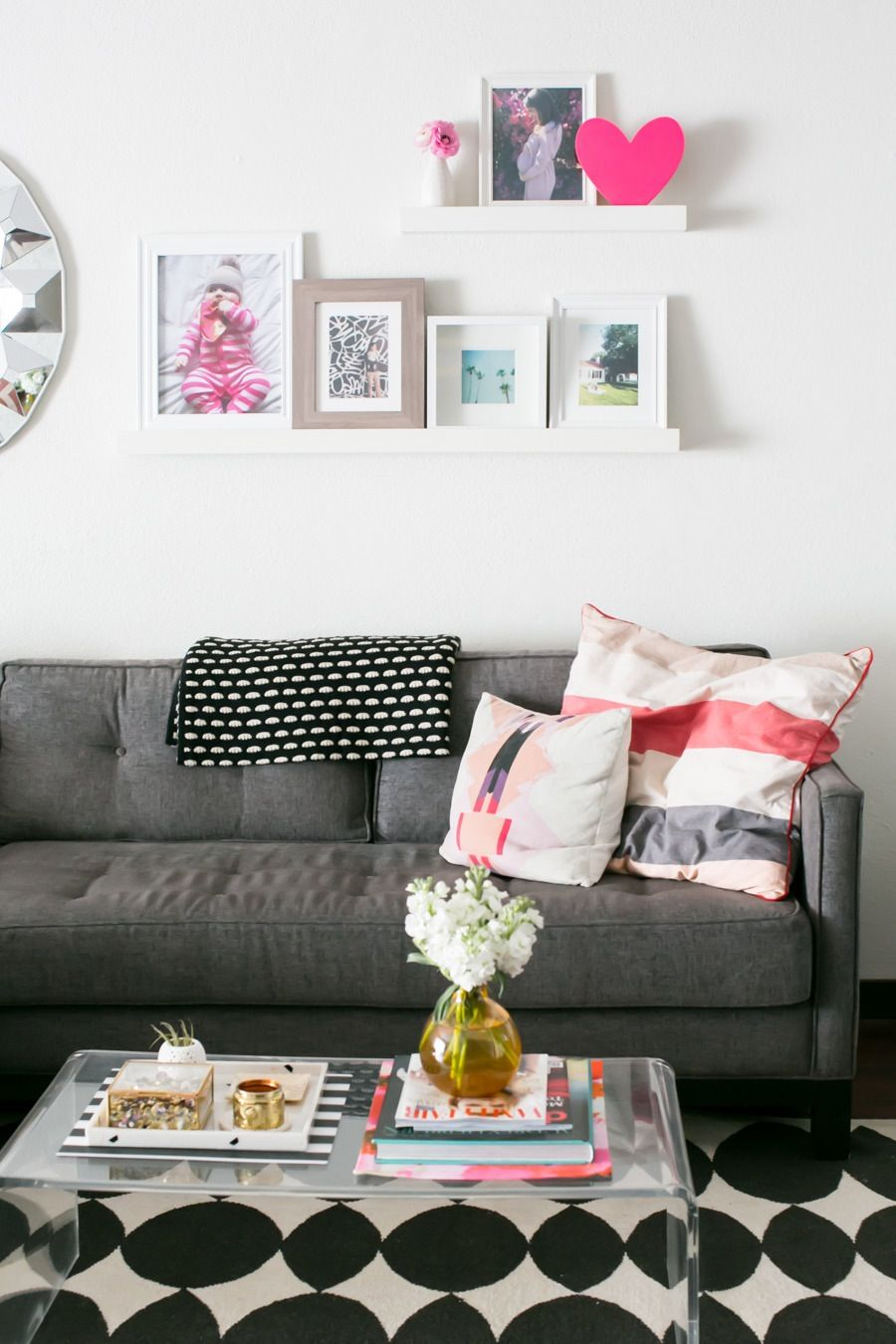 """Holiday season is basically """"everyone inside"""" season. Here are a few ways to make your living room feel large enough for all those presents and turkey-stuffed party ppl."""