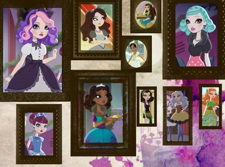 список персонажей эвер афтер хай с картинками выбор