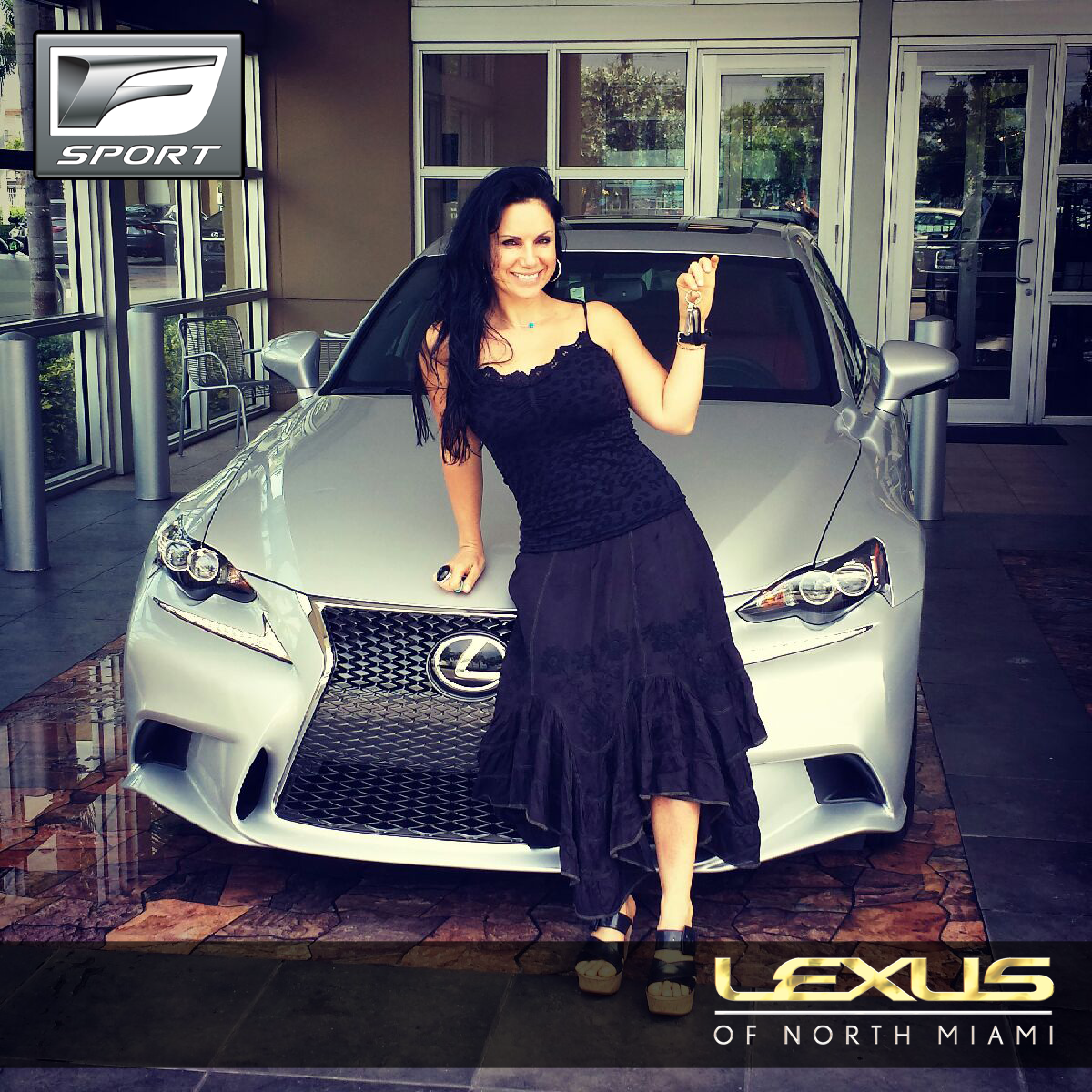 Congrats to Eti Mann and her new Lexus IS 250 F Sport