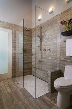 Buried U Channel And Heated Shower Floor Restroom Design Bathroom Inspiration Bathroom Makeover