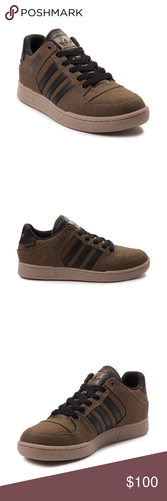 a5e4c4e63f8 ADIDAS Bucktown ST Sneakers Hemp NWOB EVH 791004 ADIDAS Bucktown ST New  Mens Shoe Olive Green Black Hemp NWOB EVH 791004 Kick it in classic style  with the ...