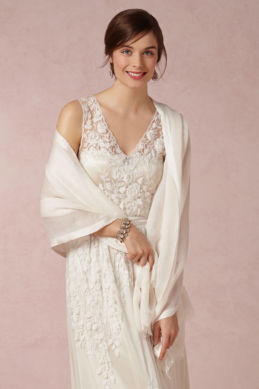 Carlotta Wrap Wedding Dress Shawl Bhldn Dress Wedding Dresses Simple