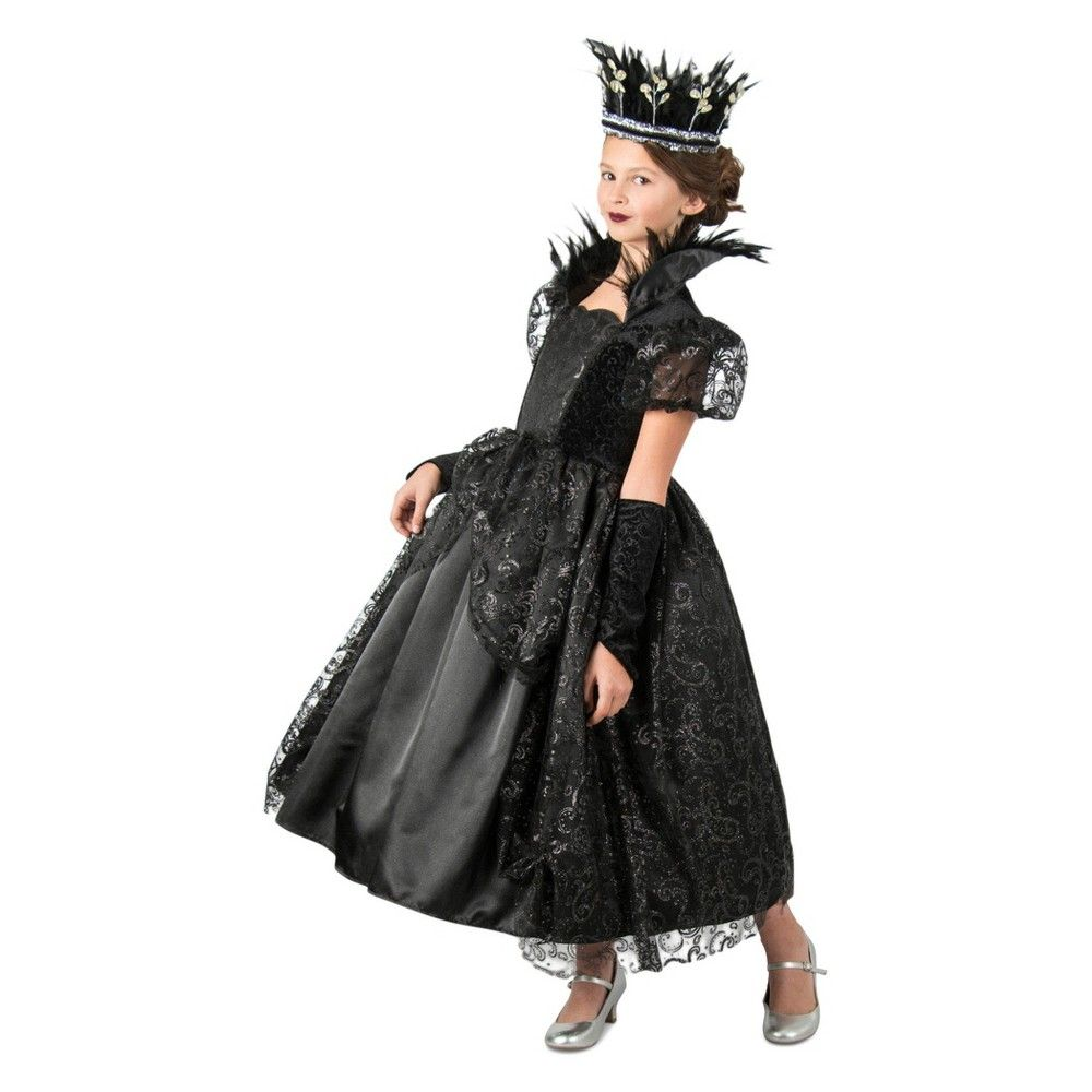 Girls Dark Princess Halloween Costume L Black Princess Costumes For Girls Princess Halloween Costume Princess Costume Kids [ 1000 x 1000 Pixel ]