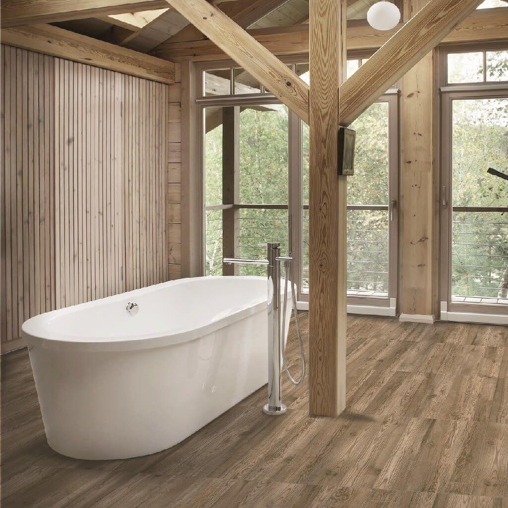Katmandu Caoba Wood Effect Floor Tiles 23 x 120 cm | Wood ...
