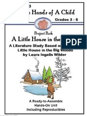 A Little House In The Woods Lapbook Little House Homeschool Lapbook