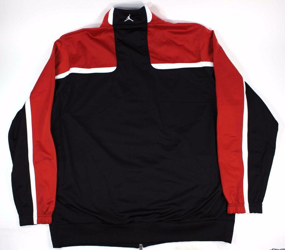 Black Track Jacket Sz 3XLT XXXLT Big
