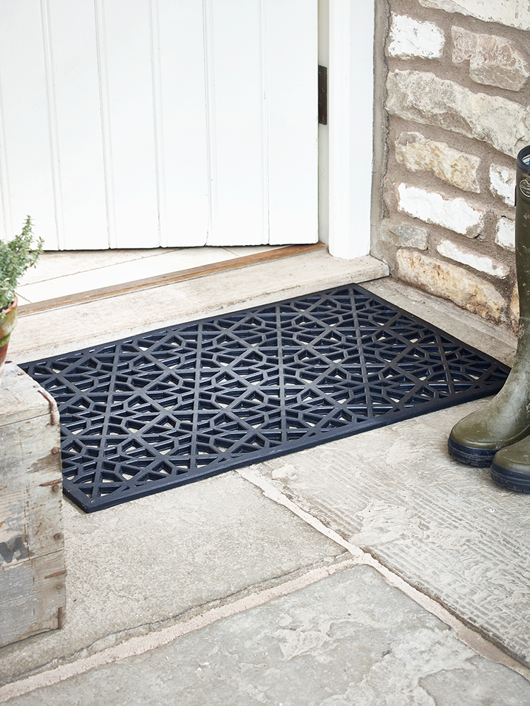 NEW Geometric Rubber Doormat & NEW Geometric Rubber Doormat | Garden | Pinterest | Door mat Front ...