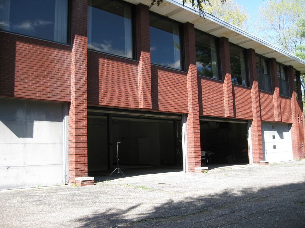 Warehouse Stage 11 Warehouses Exterior Automatic Garage Door Warehouse