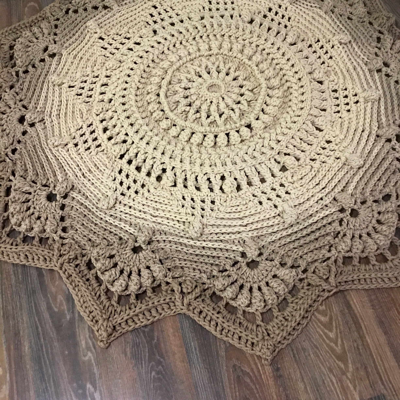 Written Instruction For Video Master Class Crochet Carpet Etsy In 2020 Crochet Rug Patterns Crochet Rug Crochet Carpet