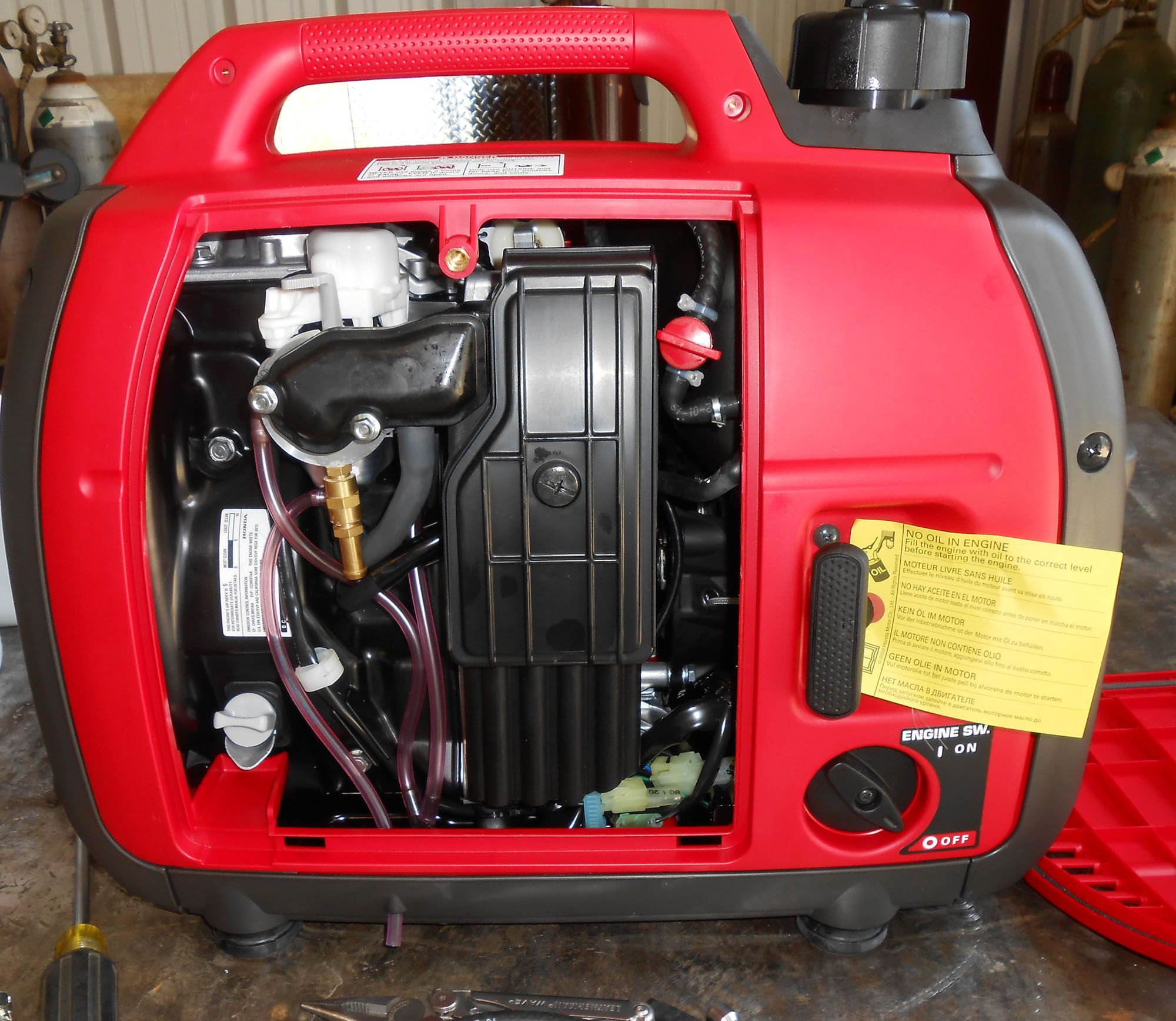 Century Fuel Products Tri Fuel Generator Conversions