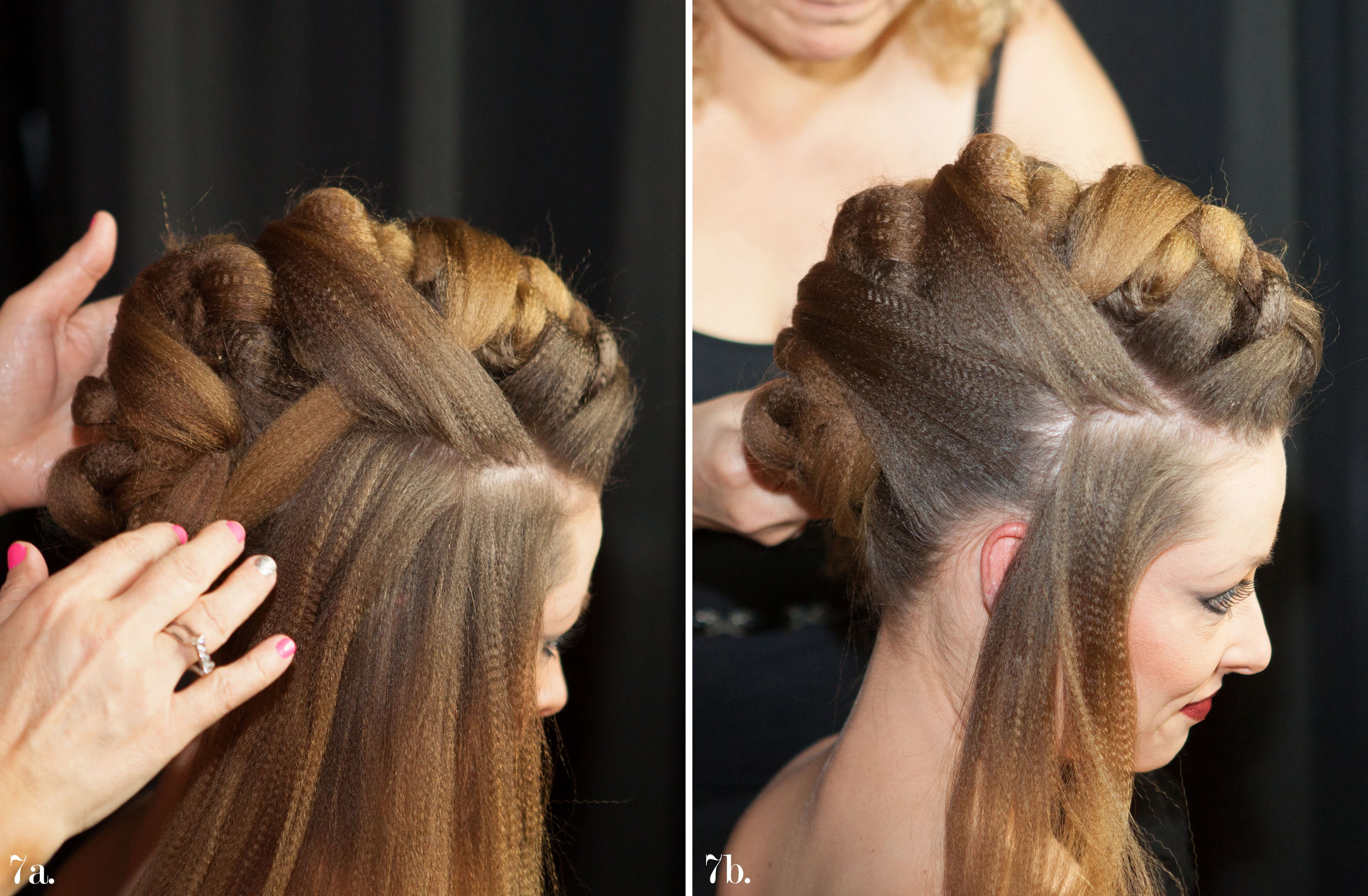 Learn Step by step how to create my Mohawk Hairstyle Hairstyles