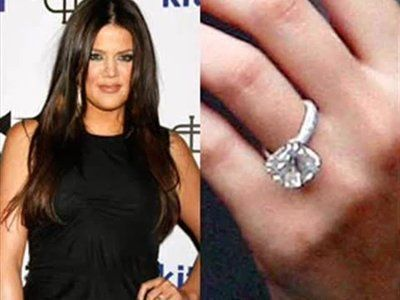 The 15 Most Expensive Celebrity Engagement Rings Celebrity Engagement Rings Khloe Kardashian Engagement Ring Kardashian Engagement Ring