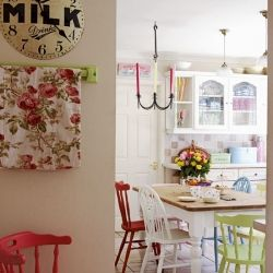 A Spring inspired home in England (Via Housetohome)