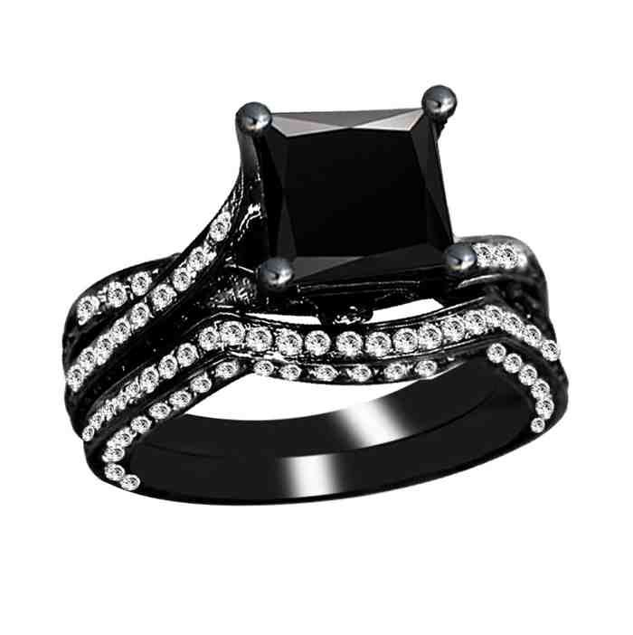 The Most Expensive Engagement Ring Black Diamond Ring Engagement Black Diamond Wedding Rings Most Expensive Wedding Ring