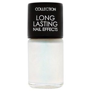 Collection Long Lasting Nail Effects 29 White Frost