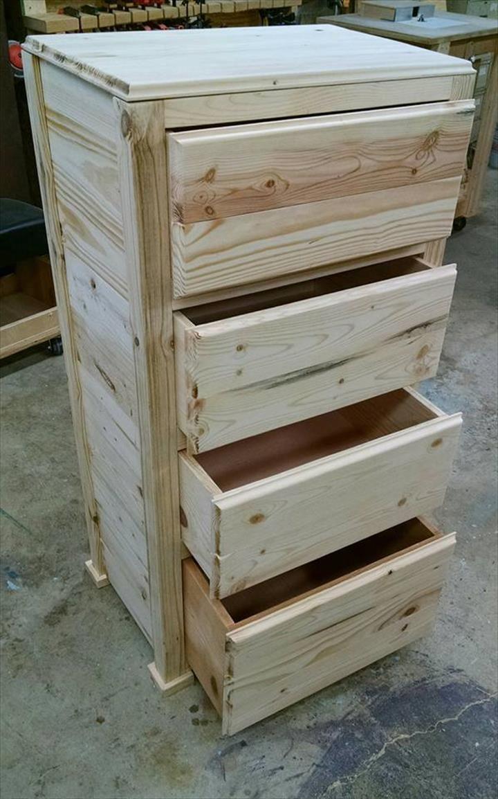 pinterest pallet furniture. Pallet Wood Chest Of Drawers | Furniture Pinterest E