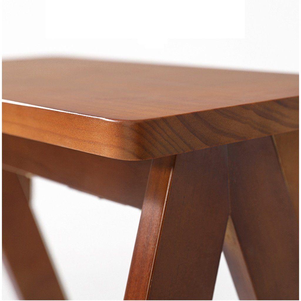 Outstanding Solid Wood Folding Stool Home Ladder Stool Simple Modern Spiritservingveterans Wood Chair Design Ideas Spiritservingveteransorg