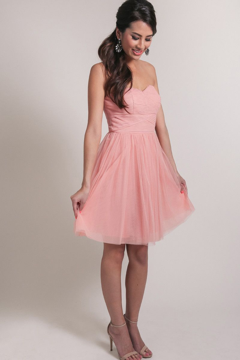 Pauline Pink Tulle Dress by Ark n Co – Delicate, Breezy, Romantic ...