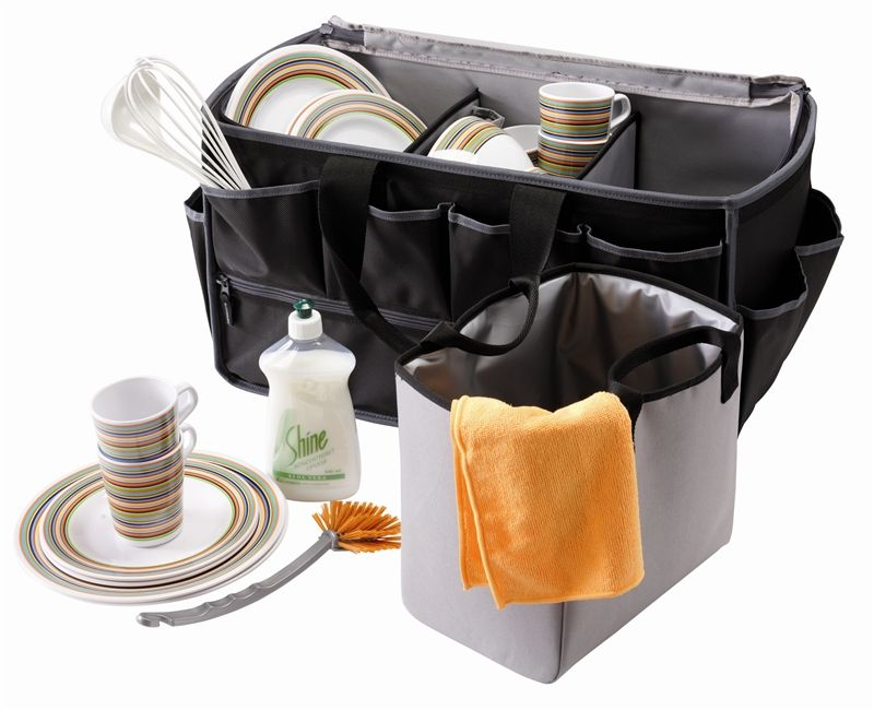 Outwell Folding Storage Picnic Basket Camp Camping Equipment