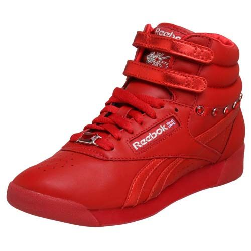 reebok womens high top tennis shoes