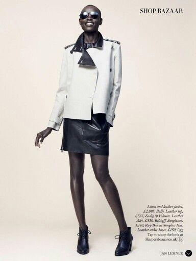 Grace Bol für Harper's Bazaar UK Märs 2015.  ---  Grace Bol for Harper's Bazaar UK march 2015  Credits : Model: Grace Bol Photographer: Jan Lehner Stylist: Sara Gilmour Hair: Kota Suizu Makeup: Nami Yoshida Manicurist: Ami Streets