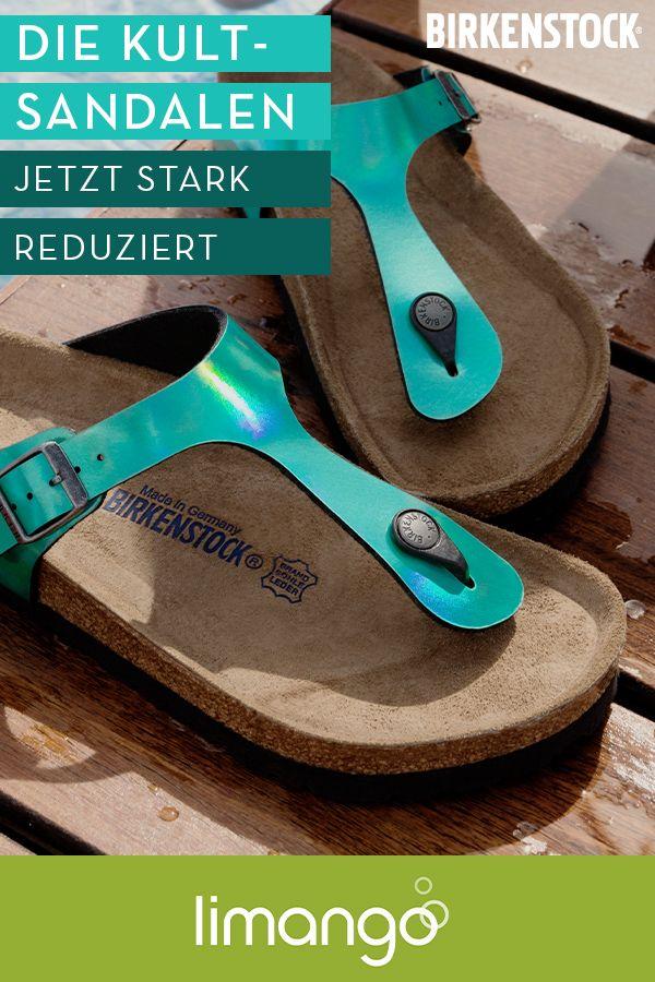 BIRKENSTOCK bis 70%* | Birkenstock sandalen, Birkenstock