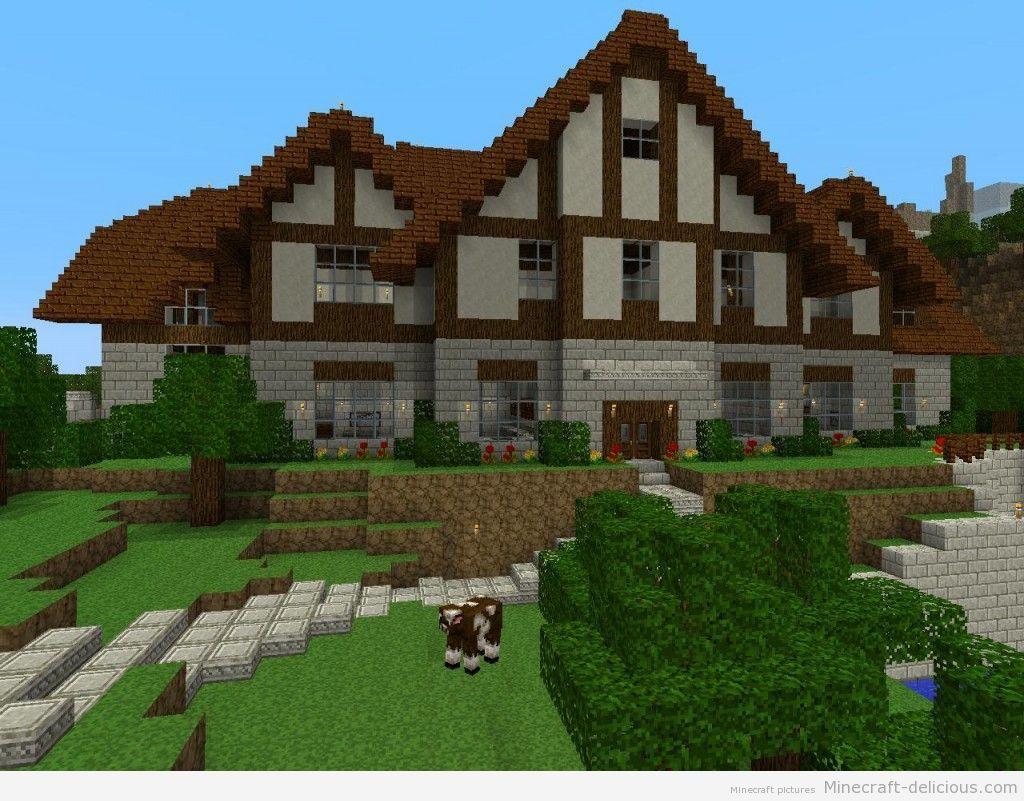 Awesome Big Minecraft Houses House