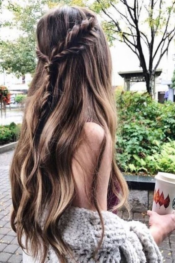 10 Trendy Curly Hairstyles For Long Hair For You Might Give A Try!