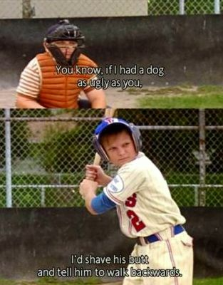 The Sandlot one of the greatest insults of all times