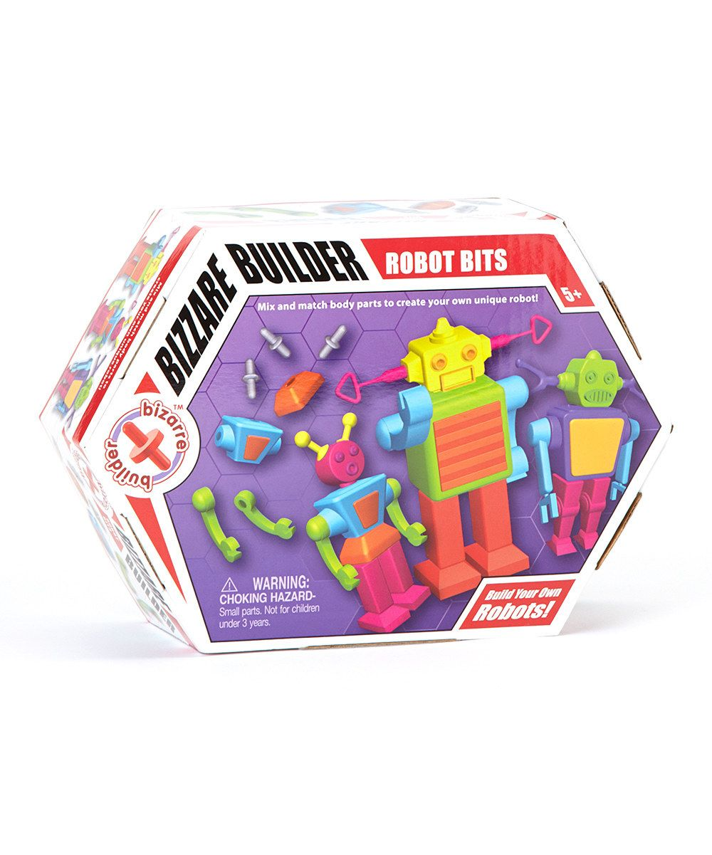 Look at this Bizarre Builder Robot Bits Set on #zulily today!