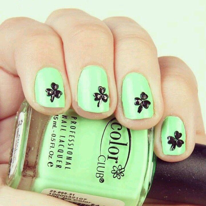 Saint Patrick day nails   ropita, zapatos y uñas   Pinterest ...