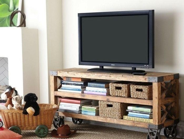 Fabriquer Un Meuble Tv Instructions Et Modeles Diy Fabriquer Meuble Tv Mobilier De Salon Meuble Tele
