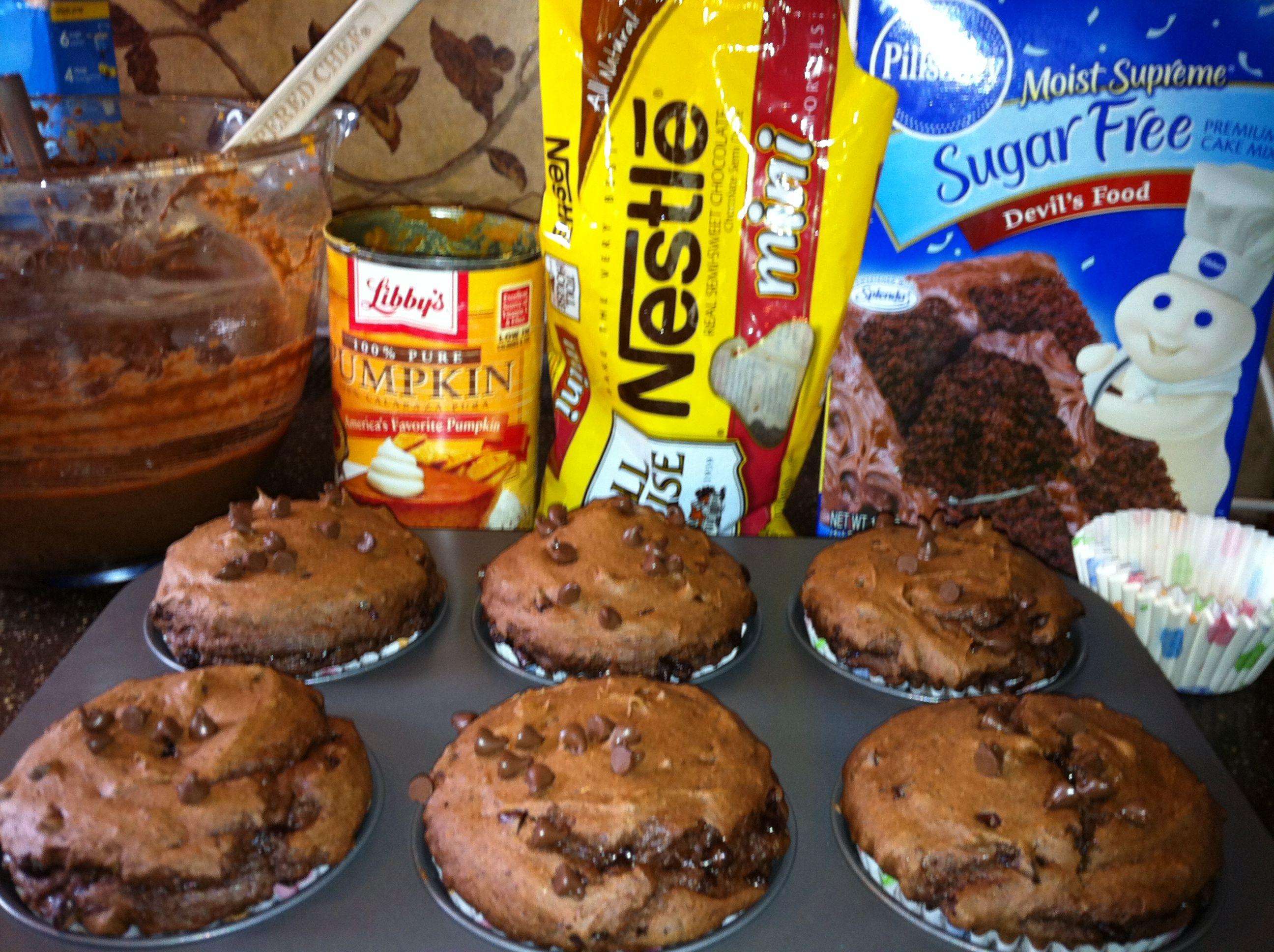One point Weight Watchers chocolate cupcakes-what?!!