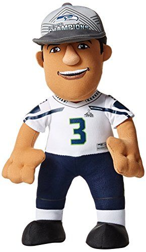 save off bffe9 f9fcd NFL Seattle Seahawks Russell Wilson Plush Doll Blue 10 ...