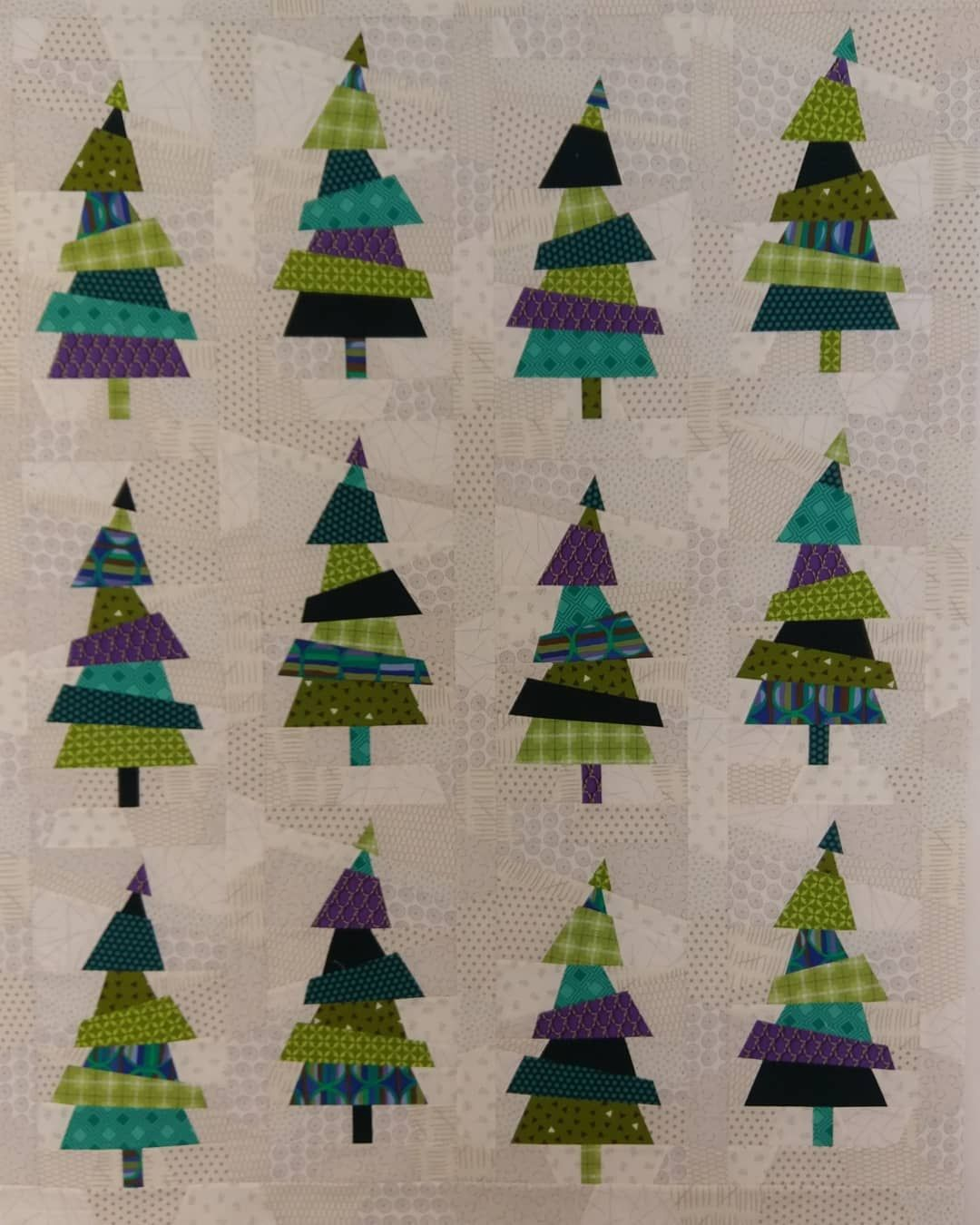 Crazy Christmas Trees And Tree Farm By Karla Alexander Tree Quilt Pattern Christmas Tree Quilt Christmas Quilt Patterns