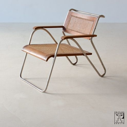 Stahlrohr Sessel seltener stahlrohrsessel erich dieckmann bild 1 design