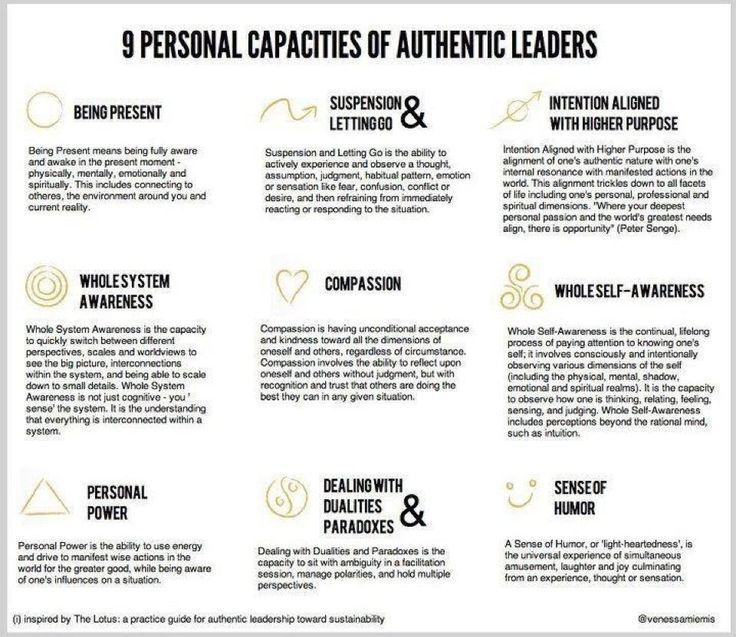 Coaching Leadership 9 Personal Capacities of Authentic