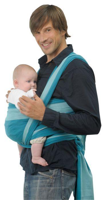 Babytragetuch Amazonas Carry Sling Classic line laguna 450cm
